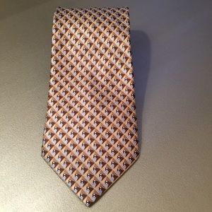 Umberto Frasi HandMade 100% Silk Geometric Tie